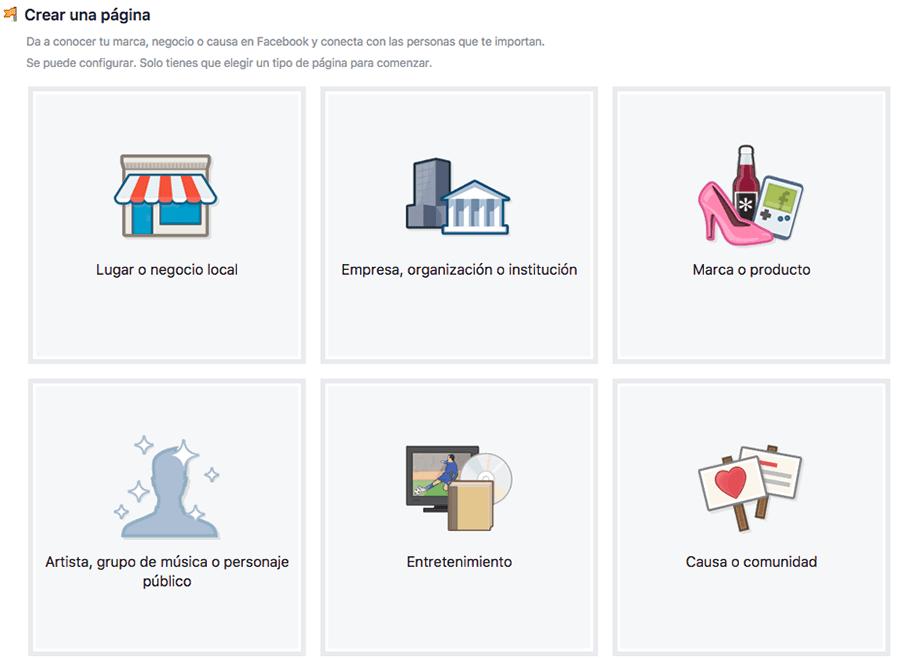Crear página de Facebook para despacho de abogados